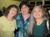 with the fiddlers: Lora Kendall, Mary Nagin